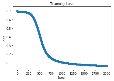 Training loss.